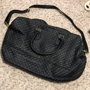 HP🎉🎉 NWOT Deux Lux Black Satchel